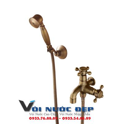 Vòi Tay Cầm Tắm Bằng Đồng Thau – VST 09