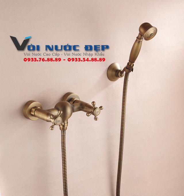 Vòi Tắm Tay Cầm Bằng Đồng Tại Đà Nẵng – VST 10