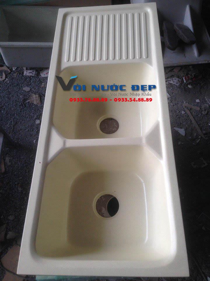 Chậu Rửa Đá Nhân Tạo Màu Trắng Tại Hồ Chí Minh – CBR 02