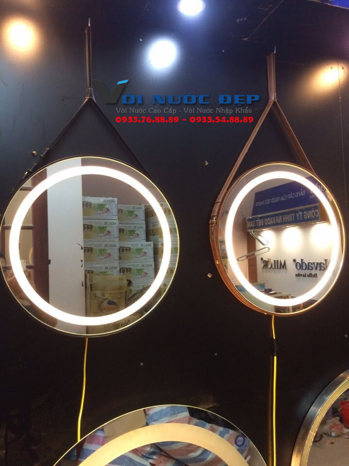 Gương Phòng Tắm Gắn LED – GPT 04