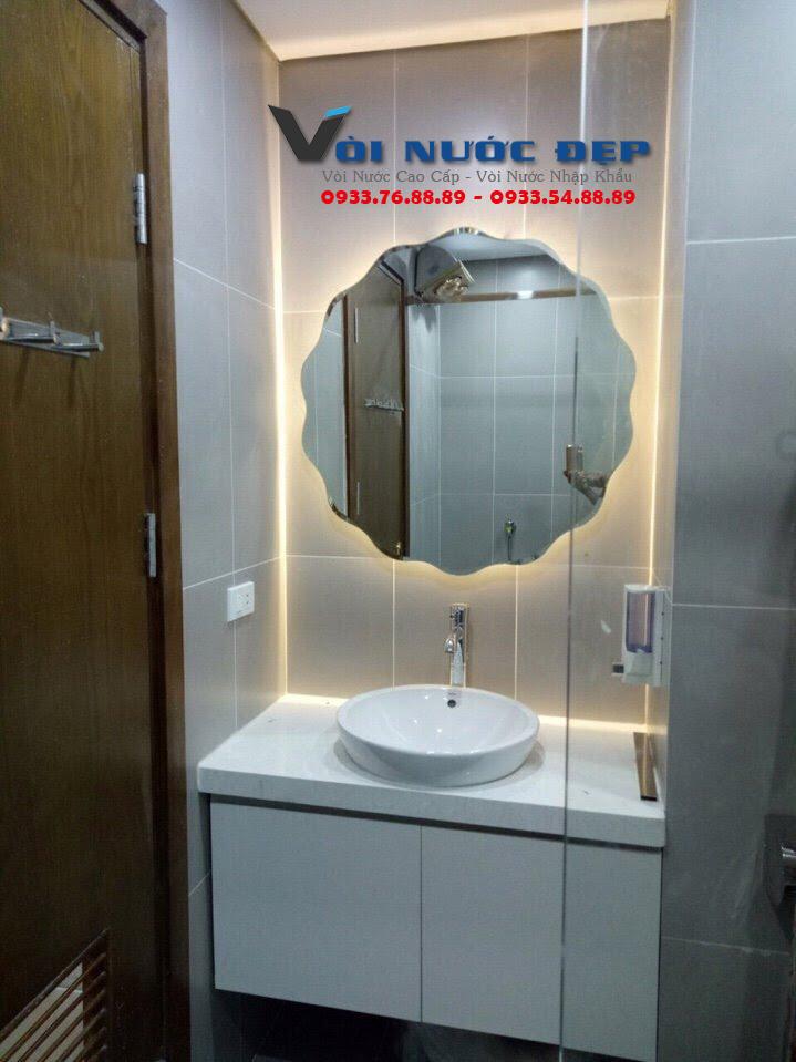 Gương Phòng Tắm Gắn LED Tại Đà Nẵng – GPT 06
