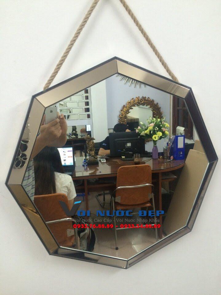 Gương Phòng Tắm Lục Giác – GPT 08
