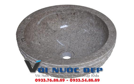 Lavabo Đá Marble ( cẩm thạch ) tự nhiên nguyên khối – LA 38