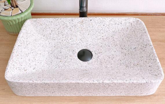 Lavabo beton đá mài tại Đà Nẵng – LM 01