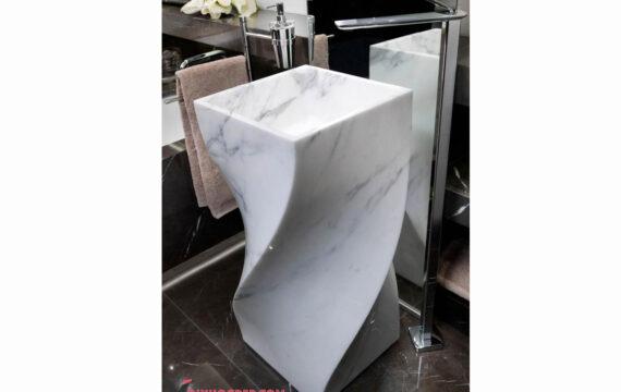 White Cayan Lavabo LAC-17