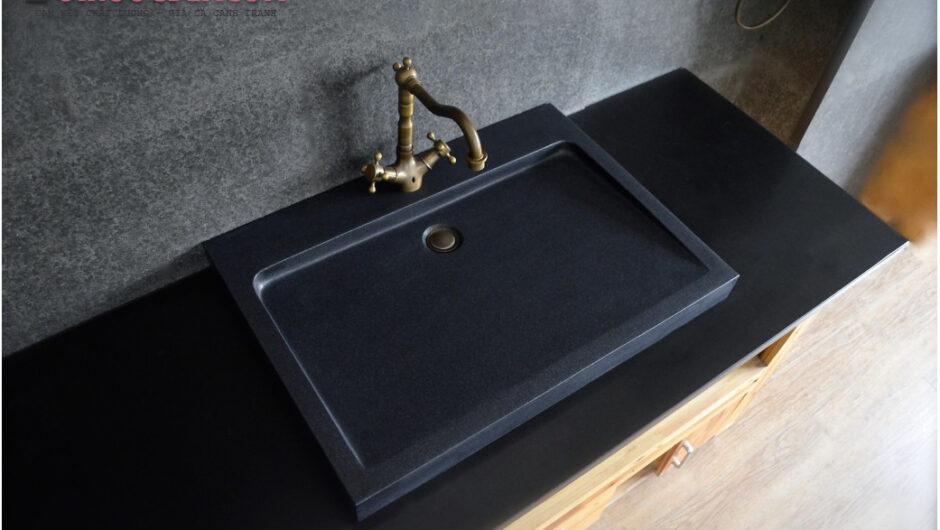 Lavabo tray SAMA đá bazan – LA 71