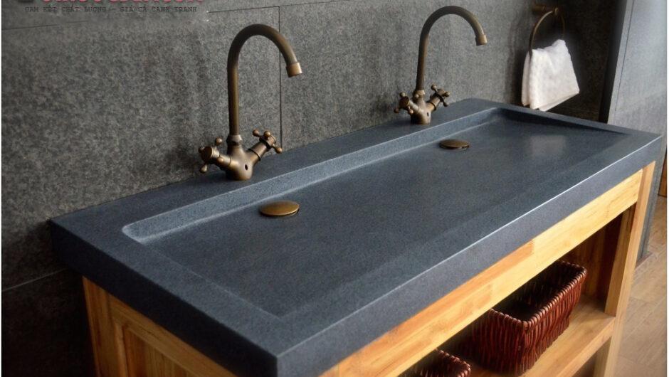 Lavabo YATE đá granite – LA 75